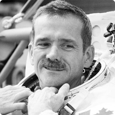An image of Colonel Chris Hadfield