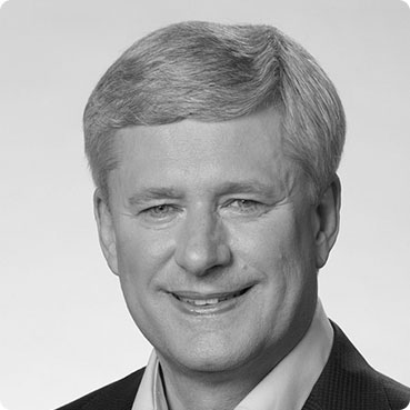 An image of The Right Honourable Stephen Harper