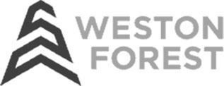 The logo of Weston Forest